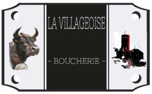 Logo Boucherie Martigny La Villageoise